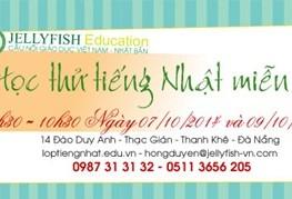 Tháng 10: học thử tiếng Nhật miễn phí tại Đà Nẵng