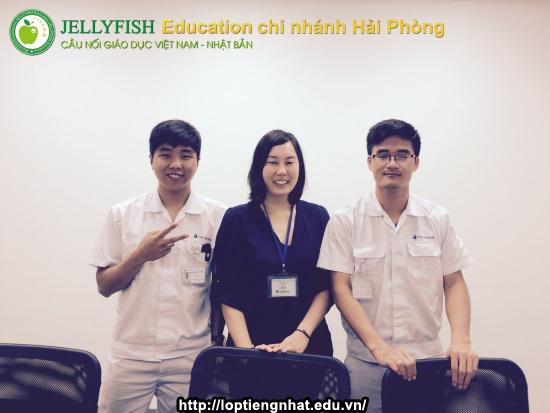 trung tâm tiếng nhật jellyfish education hải phòng