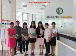 Giới thiệu Trung tâm tiếng nhật Jellyfish Education