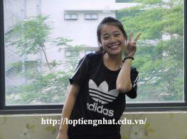 Cảm nhận của học viên tiếng Nhật Nguyễn Thị Thúy Hạnh-Lớp 10E