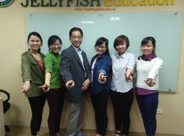 Lớp giao tiếp tiếng Nhật của thầy Yahara Takeshi