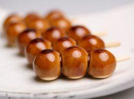 Cách làm bánh  Tsukimi Dango ( Bánh Trung Thu Nhật Bản)