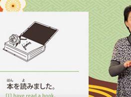 Học tiếng Nhật qua video chủ đề Te-Imasu
