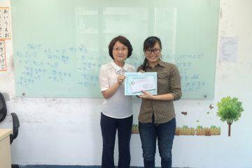 Học viên xuất sắc dành học bổng tháng 3_Chi Nhánh Hà Nội