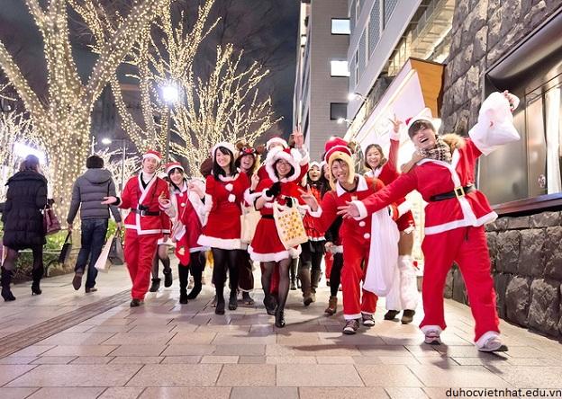 giáng sinh của du học sinh tại Nhật