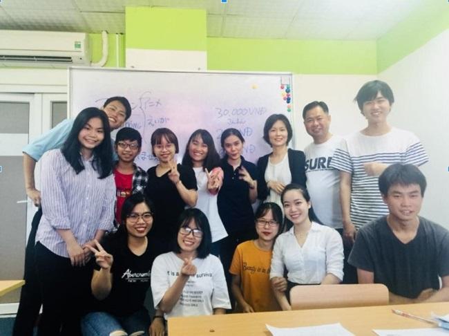 Những bạn học viên đáng yêu tại Jellyfish Education