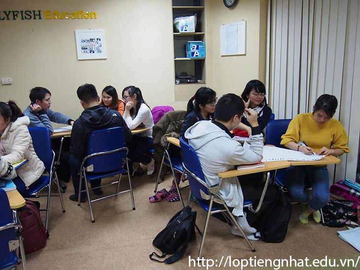 lớp học tiếng nhật giao tiếp của thầy yahara
