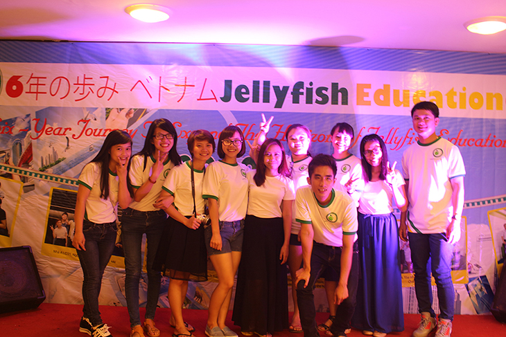 trung tâm tiếng nhật jellyfish