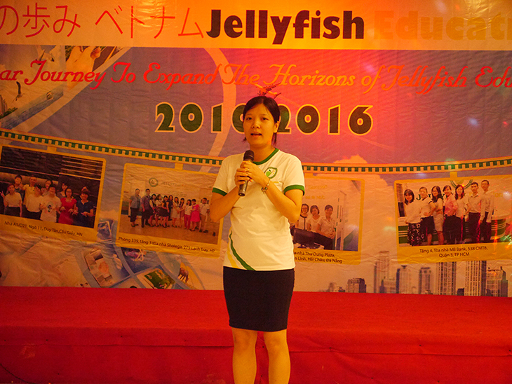 giám đốc trung tâm tiếng nhật jellyfish