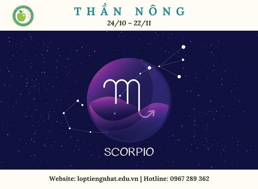 蠍座 (さそりざ) Scorpio