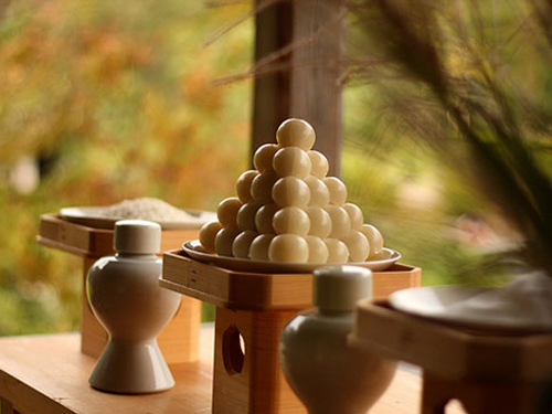 Cách làm bánh Tsukimi Dango