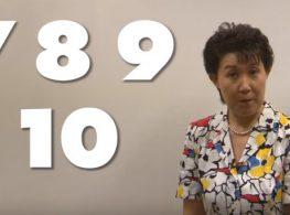 Học tiếng Nhật đếm số từ 1-100