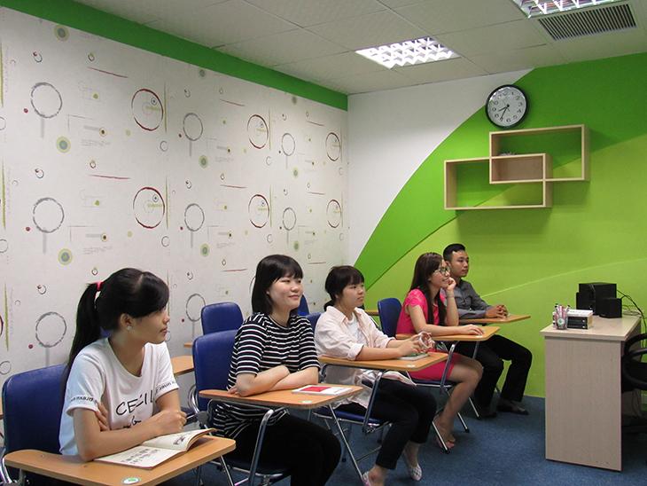 Học viên luôn được học tập trong môi trường tốt nhất, hiện đại nhất