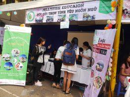 Jellyfish Education tại lễ hội văn hóa hana matsuri_ĐHKTQD