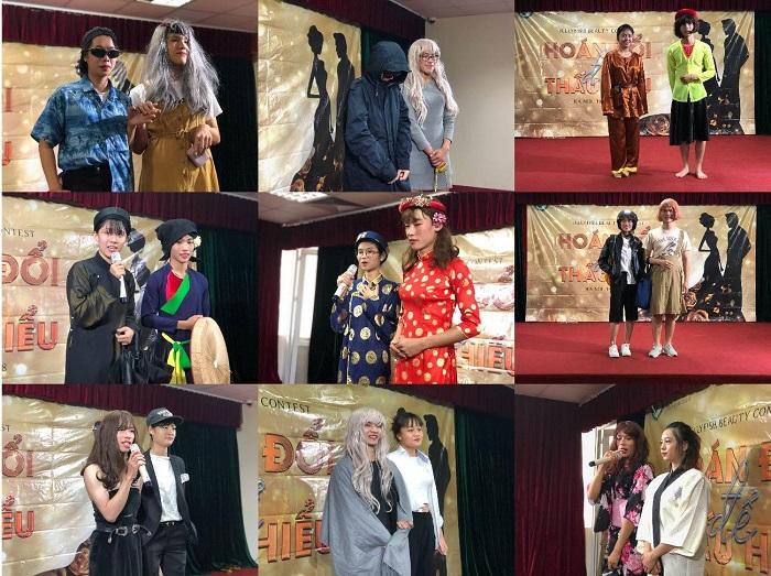 Beauty contest tại thành phố Hà Nội nhận được sự tham gia của đông đảo các bạn học viên tại trung tâm tiếng Nhật với sự chuẩn bị kỹ lưỡng từ phần trang phục đến các tiết mục dự thi.