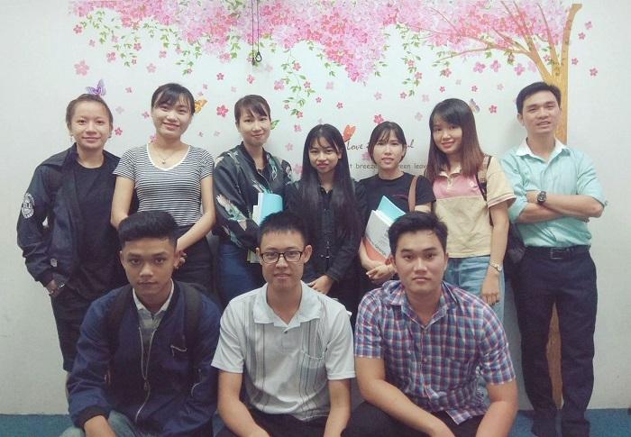 Học viên lớp tiếng Nhật tại Trung tâm tiếng nhật Jellyfish Education Đà nẵng