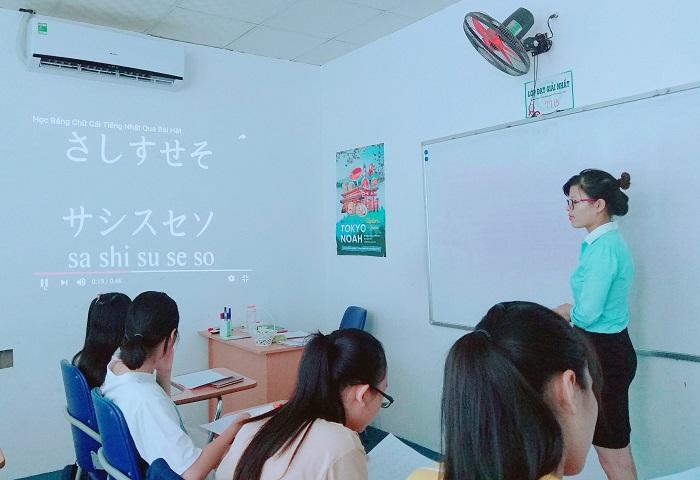 Học bảng chữ cái tiếng Nhật