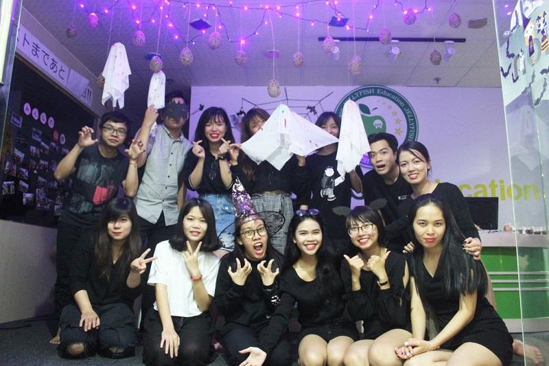 Hằng năm, trung tâm tiếng nhật TpHCM Jellyfish Education tổ chức rất nhiều hoạt động thú vị cho các bạn học viên