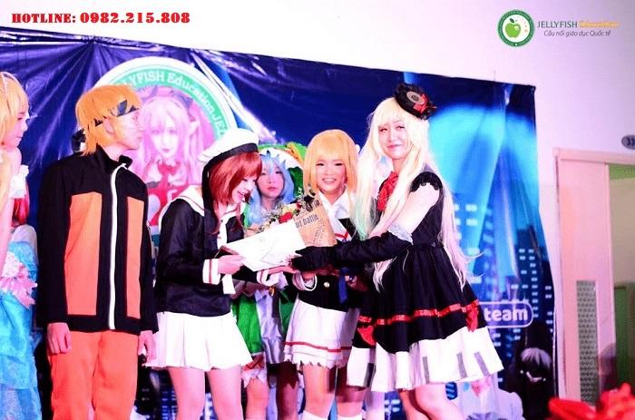 Sự kiện văn hóa tại trung tâm học tiếng Nhật Jellyfish CN Hải Phòng