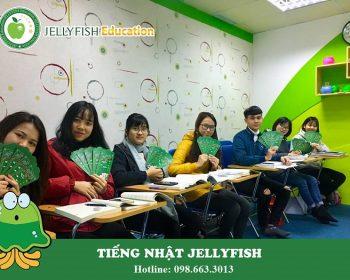 Học tiếng Nhật cùng Jellyfish Education Hà Nội