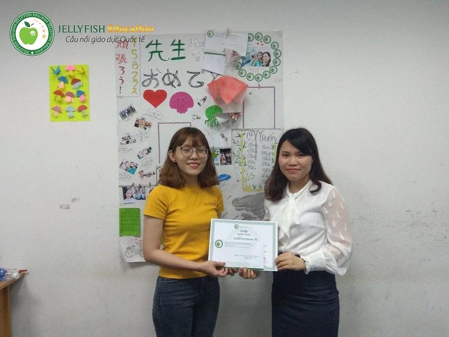 Bạn Nguyễn Thị Quỳnh Như –Lớp 113A N5 – CN Đà Nẵng