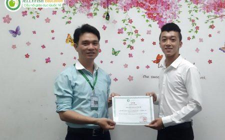 Bạn Nguyễn Văn Huynh - CN Đà Nẵng Lớp: 119A - N5