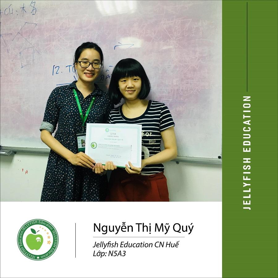 Bạn Nguyễn Thị Mỹ Quý – CN Huế Lớp N5 A3