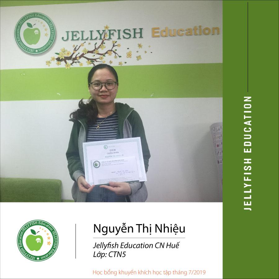 Bạn Nguyễn Thị Nhiệu - CN Huế Lớp: Cấp tốc N5