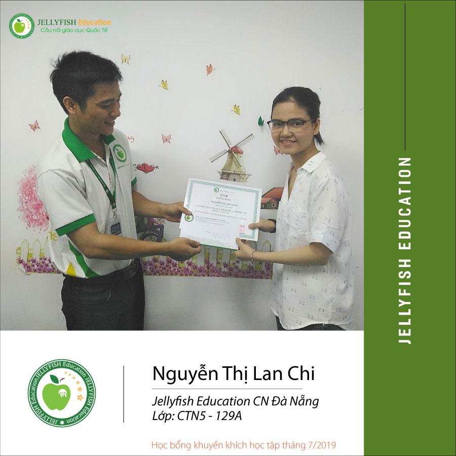 Bạn Nguyễn Thị Lan Chi - CN Đà Nẵng Lớp CT N5 129A