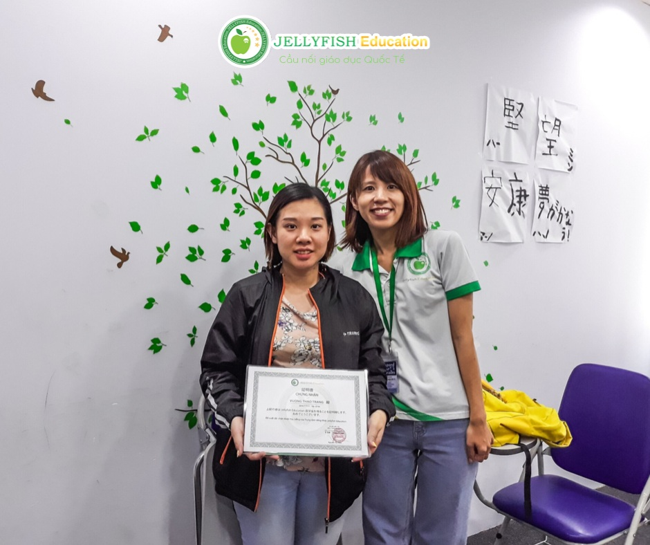 Bạn Vương Thảo Trang - Lớp N4 - CN HCM