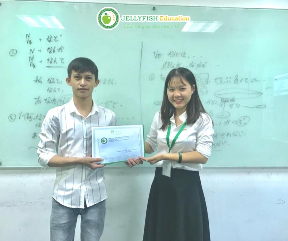 Bạn Nguyễn Đức Hạnh - Lớp N4 - CN Hà Nội