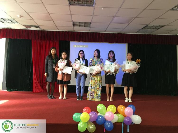 Gala 20/11 - Tri ân Thầy cô giáo Jellyfish Education - CN Hà Nội ảnh 1