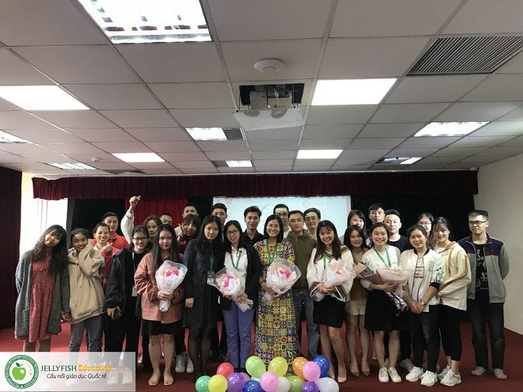 Gala 20/11 - Tri ân Thầy cô giáo Jellyfish Education - CN Hà Nội ảnh 2