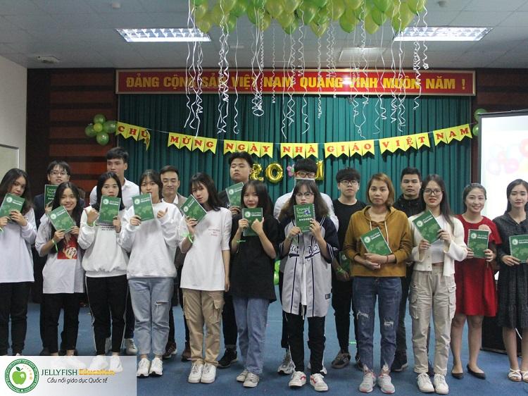 Gala 20/11 - Tri ân Thầy cô giáo Jellyfish Education - CN Hải Phòng ảnh 1