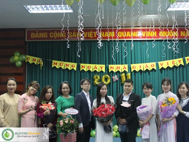 Gala 20/11 - Tri ân Thầy cô giáo Jellyfish Education - CN Hải Phòng ảnh 2
