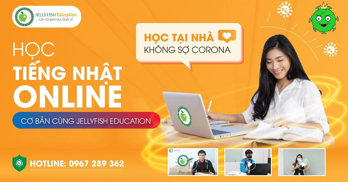 Học tiếng Nhật online cơ bản cùng Jellyfish Education
