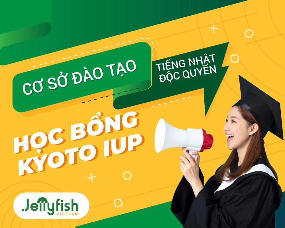 Jellyfish Education - Cơ sở đào tạo tiếng Nhật chính thức của Học bổng toàn phần Kyoto iUP