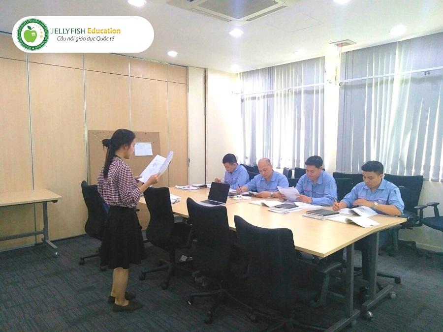 Lớp học tiếng Nhật doanh nghiệp cho Công ty ô tô Toyota Việt Nam - Ảnh 2