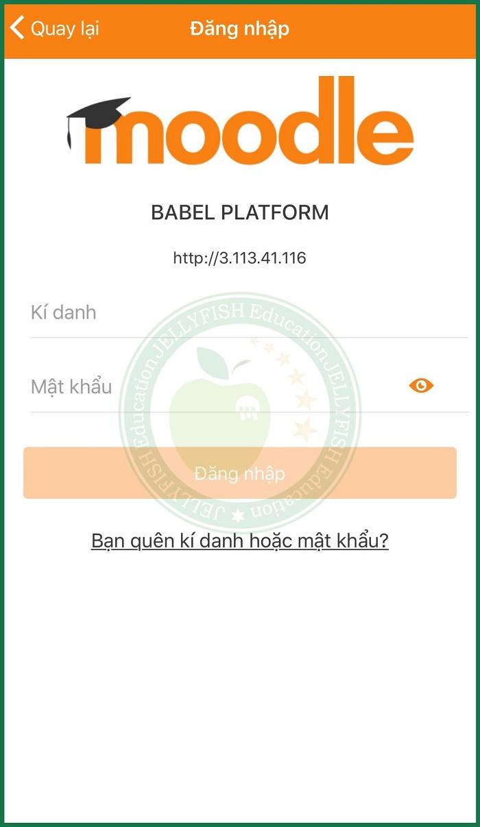 Hướng dẫn cài đặt phần mềm Baberu trên điện thoại - Bước 3