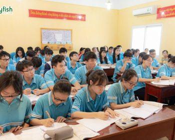 Ảnh: Lớp tiếng Nhật tại trường THPT Thăng Long